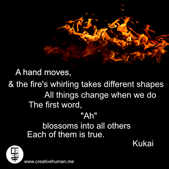 Quote: A Hand Moves Kukai